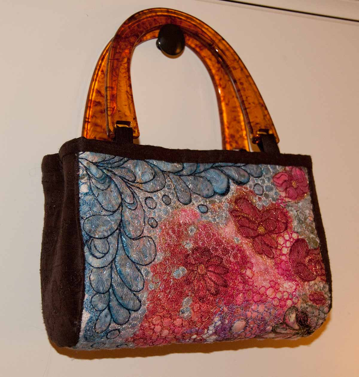 Art quilt 3D Little Bag